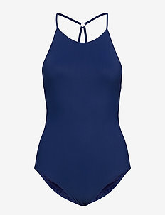 Tie-back Swimsuit - INDIGO BLU