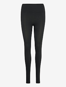 High Seamless Leggings - leggings - coal