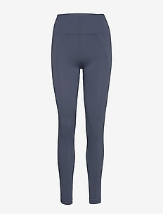 High Seamless Leggings - MISTY BLUE