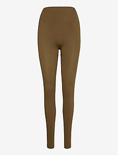 High Seamless Leggings - leggings - mud
