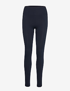 High Seamless Leggings - NAVY