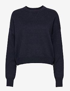 Double Knit Sweater - NIGHT SKY