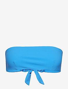 Bandeau Bikini Top - bikini overdele - french blu