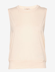 Cool-down Top - tank tops - meringue