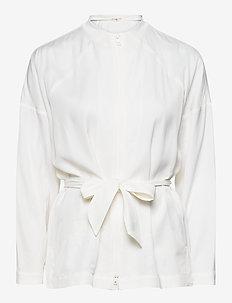 Fluid Track Jacket - urheilutakit - white