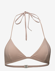 Triangle Bikini Top - bikini overdele - pale pink
