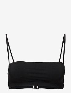 Bandeau Strap Top - góry strojów kąpielowych - black