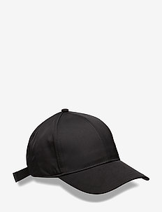 Shiny Twill Cap - lakit - black