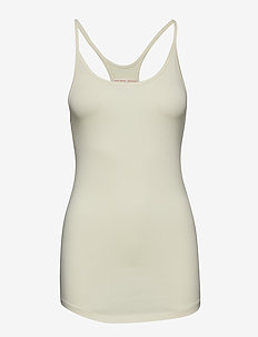 Cotton Strap Tank - BUTTER