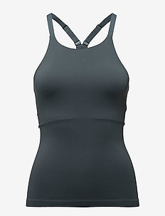 Seamless Strap Top - tank tops - pigeon
