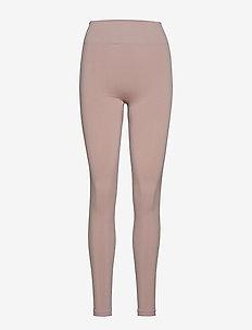 2 tone Seamless Legging - FROSTY PIN