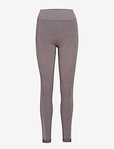 2 tone Seamless Legging - MAROON/FRO