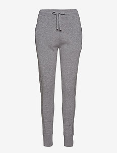 Cashmere Trackpants - GREY MEL.