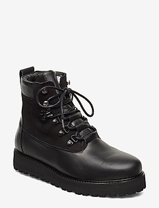 Hiker Boot - niski obcas - black