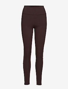 Compression Zip Legging - FONDANT