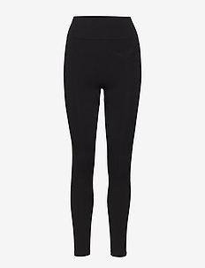 Seamless Compression Legging - kompressionstights - black
