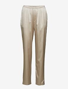 Silk Satin Pyjama Pants - MOUSSE