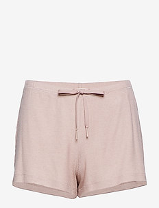 Silky Jersey Shorts - DUSTY PINK