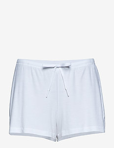 Silky Jersey Shorts - WHITE