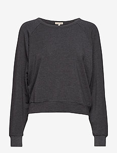 Light Terry Sweatshirt - GREY MEL.