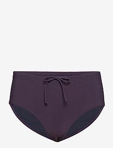 High Waist Bikini Bottom - MIDNIGHT P