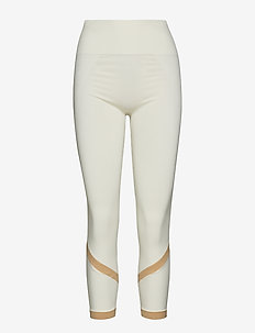 Seamless Stripe Legging - OFF WHITE