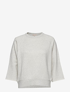 Mid Sleeve Sweat - OFF GREY M