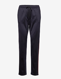 Striped Track Pant - NAVY