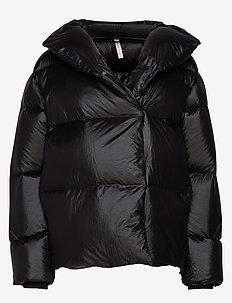 Puffer Down Jacket - BLACK