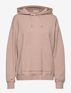 Hooded Sweatshirt - DUSTY ROSE