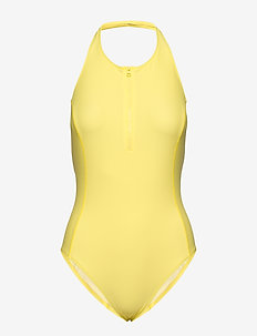 Halter Swimsuit - LEMON