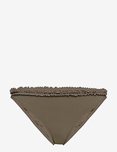 Frill High Cut Brief - bas de 2 pièces  - olive