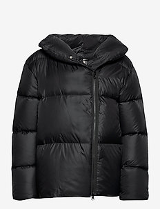 Janessa Puffer Jacket - insulated jackets - black