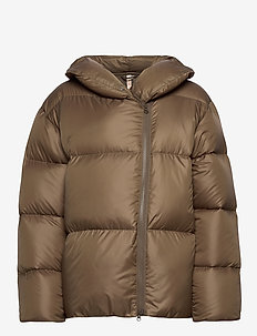 Janessa Puffer Jacket - insulated jackets - mud