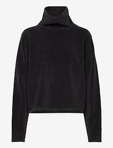 Fleece Sweatshirt - sweatshirts - coal