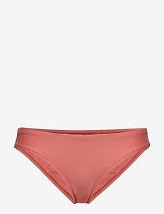 Classic Shiny Brief - bikini bottoms - coral