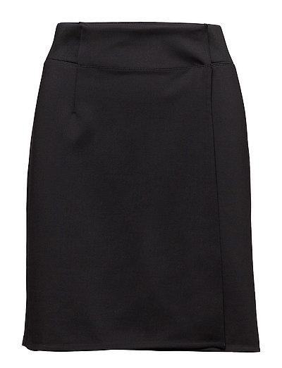 Track Wrap Skirt - BLACK
