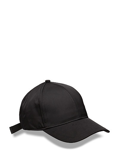 Shiny Twill Cap - BLACK