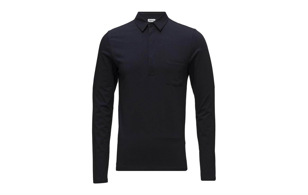 Soft Lycra K Poloshirt Navy M Filippa qPwYxEZwg
