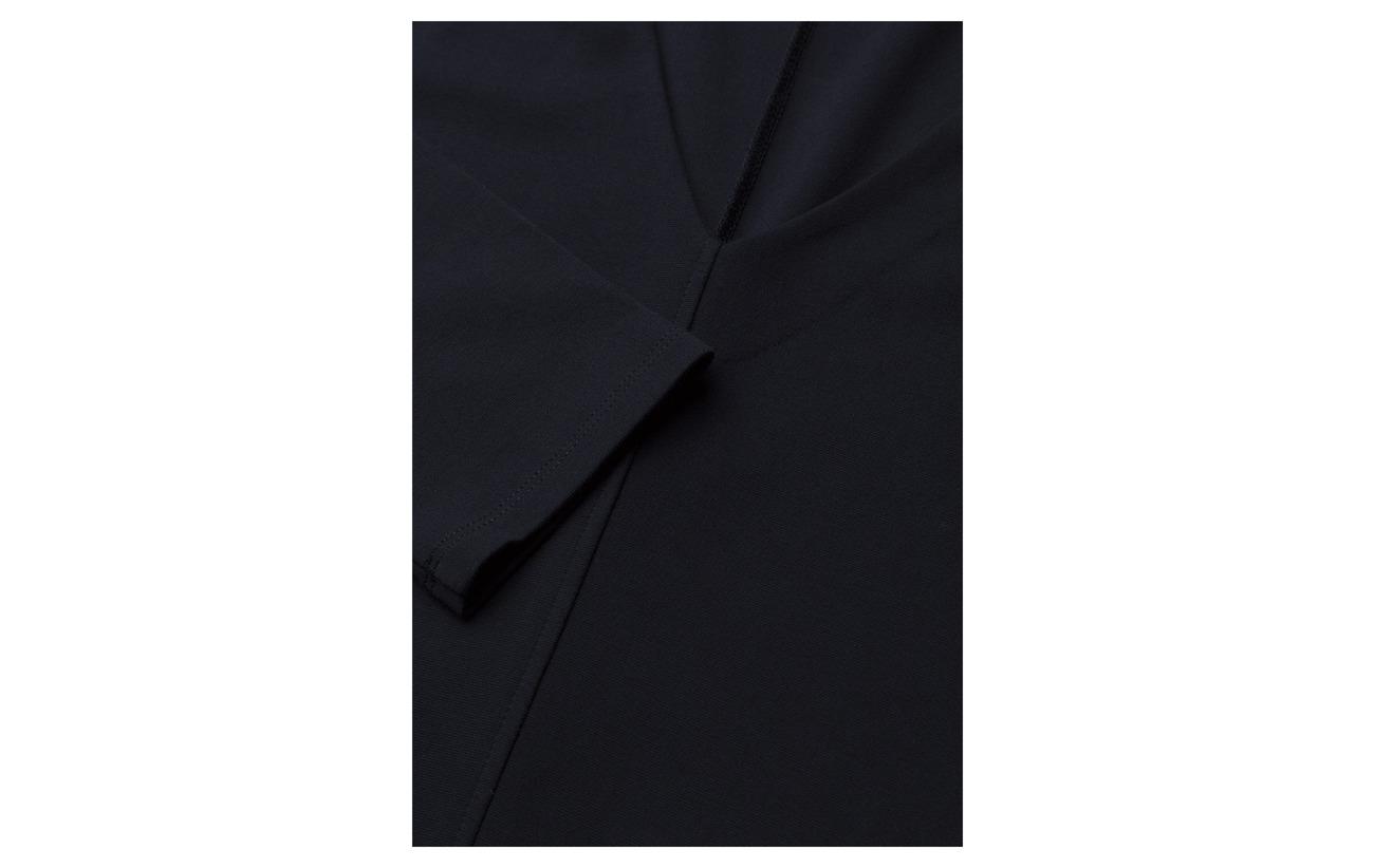 Polyamide Elastane 14 K Dress Filippa Viscose V neck 6 Black 80 Z8xBTUS