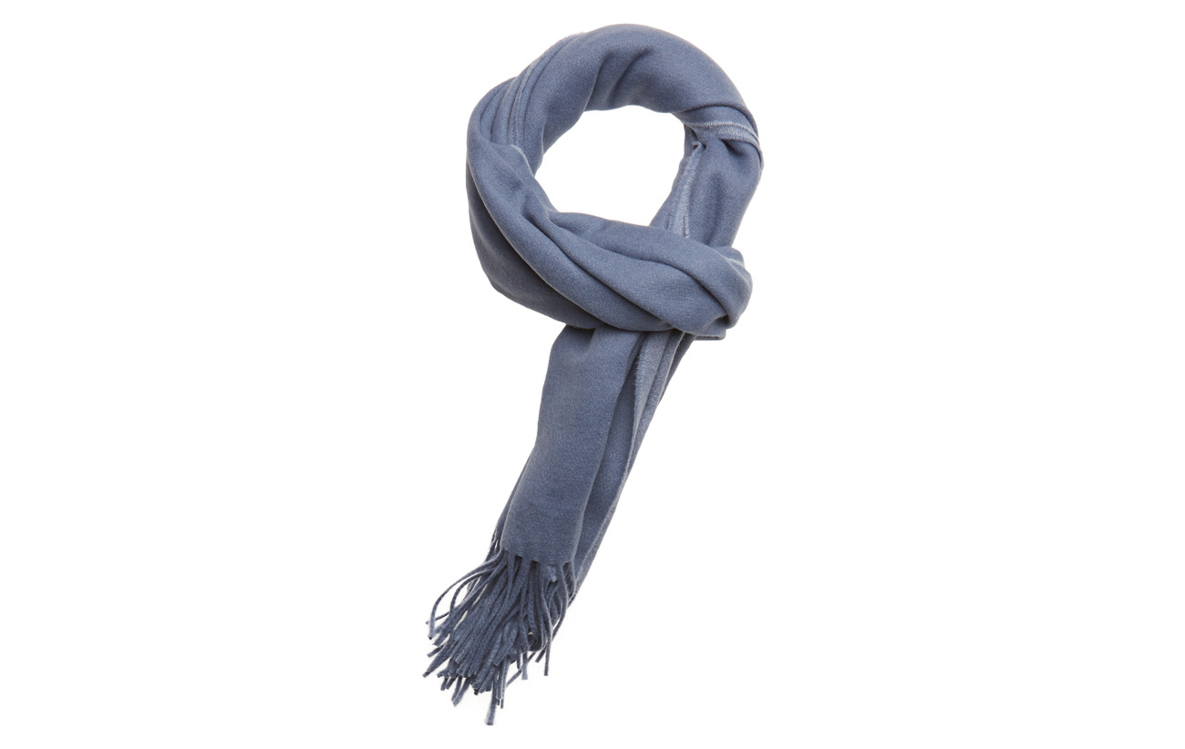 Filippa K Two-Tone Scarf - PARIS BLUE