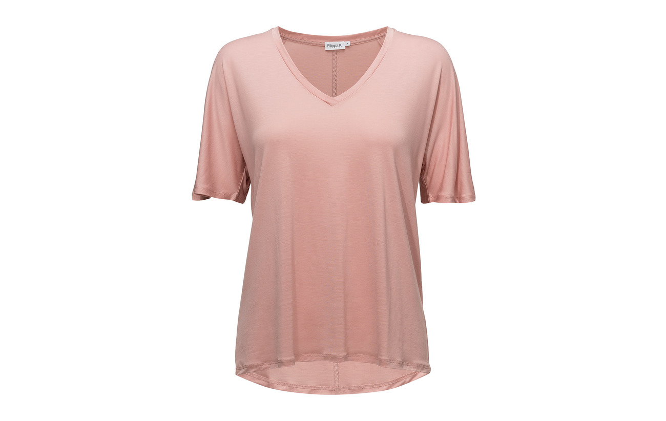 neck Swing 100 Top V K Lyocell Rose Filippa AqtvEwP