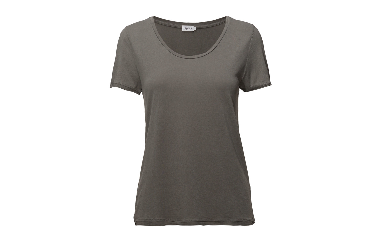 Neck Scoop Coton Lyocell Tee K 67 33 Filippa Canvas xUTaEqwaB