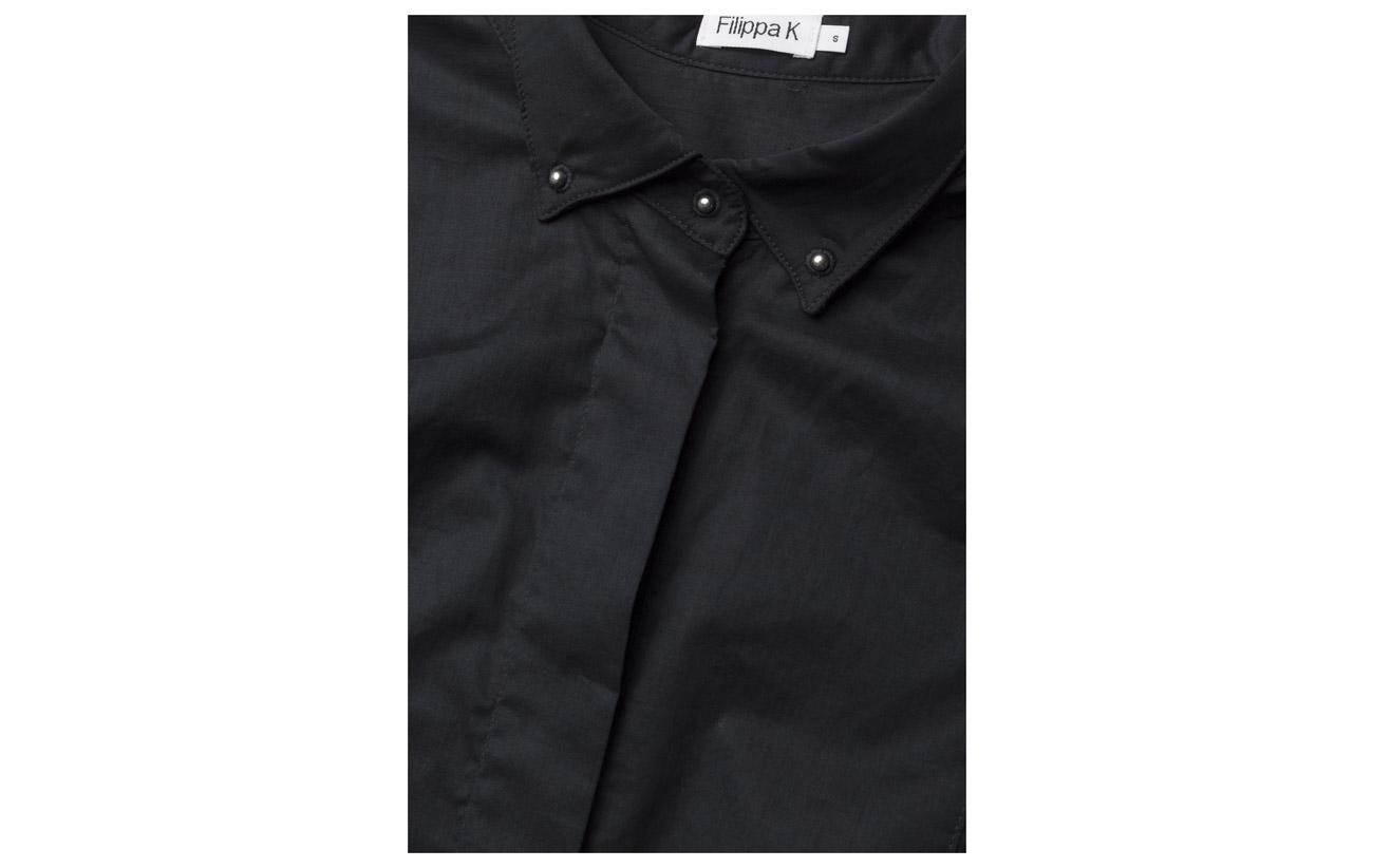 Coton Bci White Tuxedo K Filippa Sleeveless 100 Shirt 1w0Zwv4q