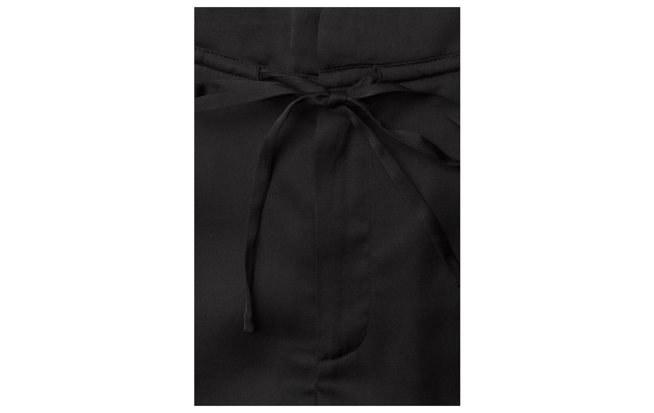 Satin Black Jogger Lou K Filippa 44 56 Polyester Viscose qxA1Eavn