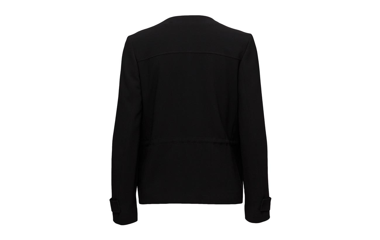 Polyester 69 Harper Black Jacket 31 Filippa Utility K Triacetate 8aOqAfwT