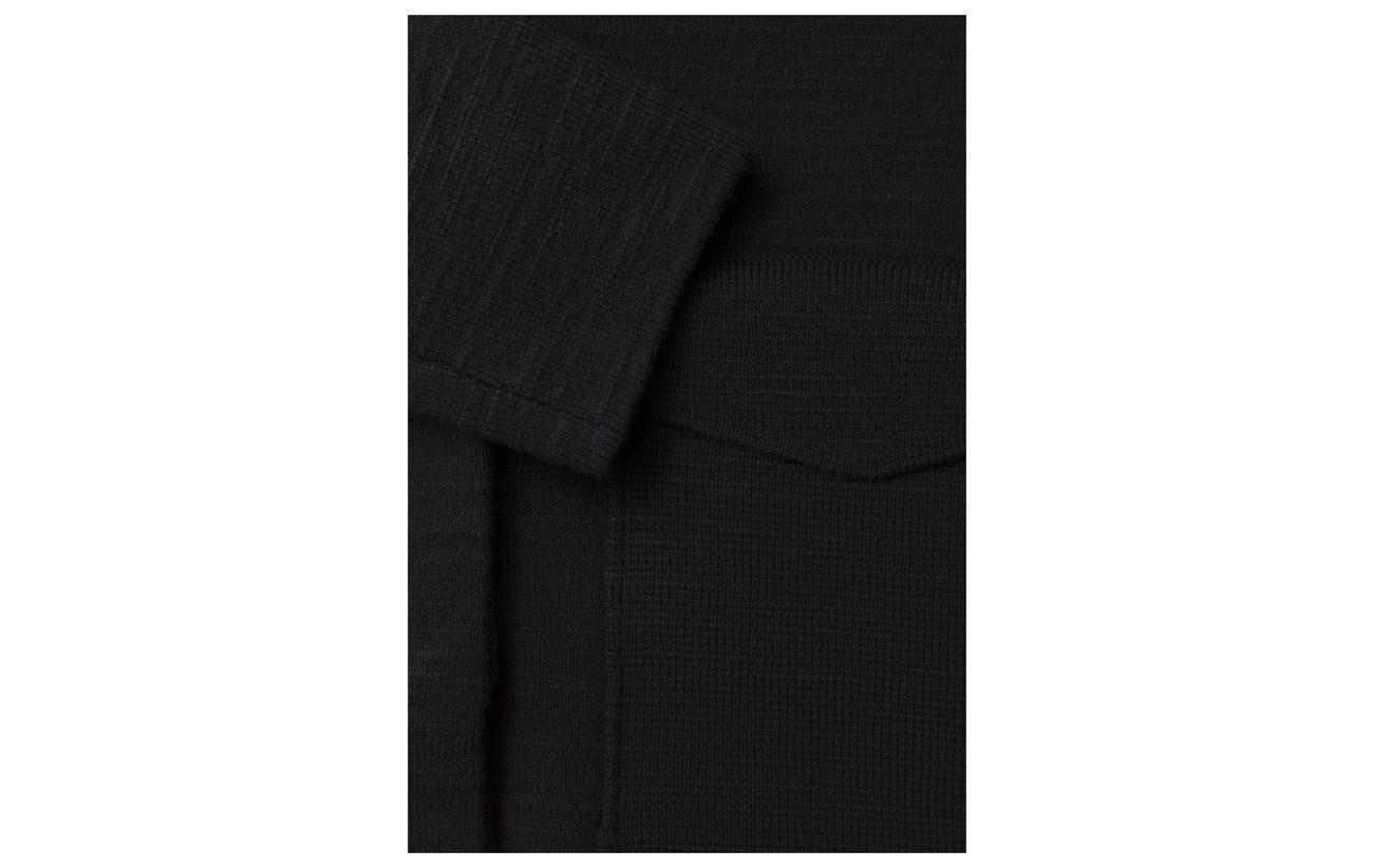 1 14 Laine Black K Structured Polyamide Filippa 8 Cardi 77 Coton Jacket Elastane gPUx0q