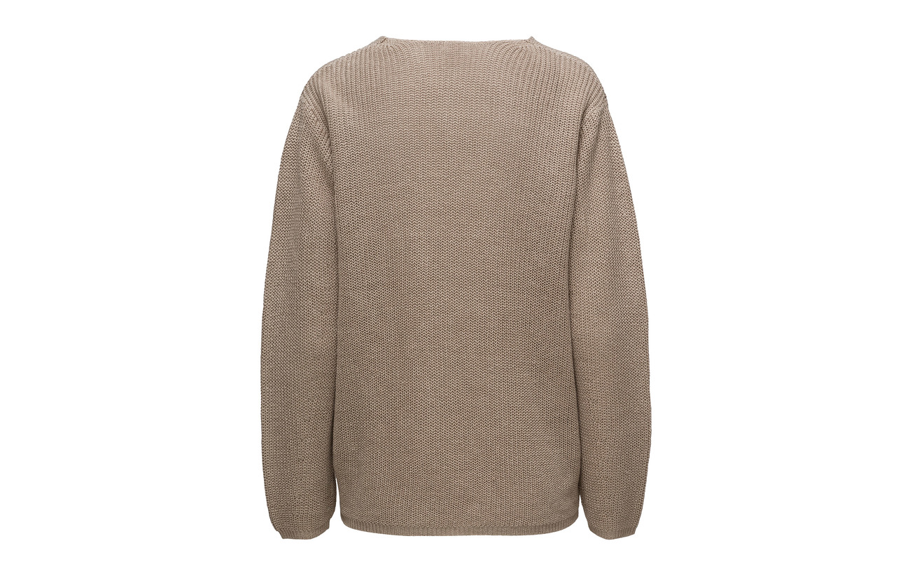 Sweater 100 V K Linen Filippa neck Lin Hemp pa1IYHwcxq