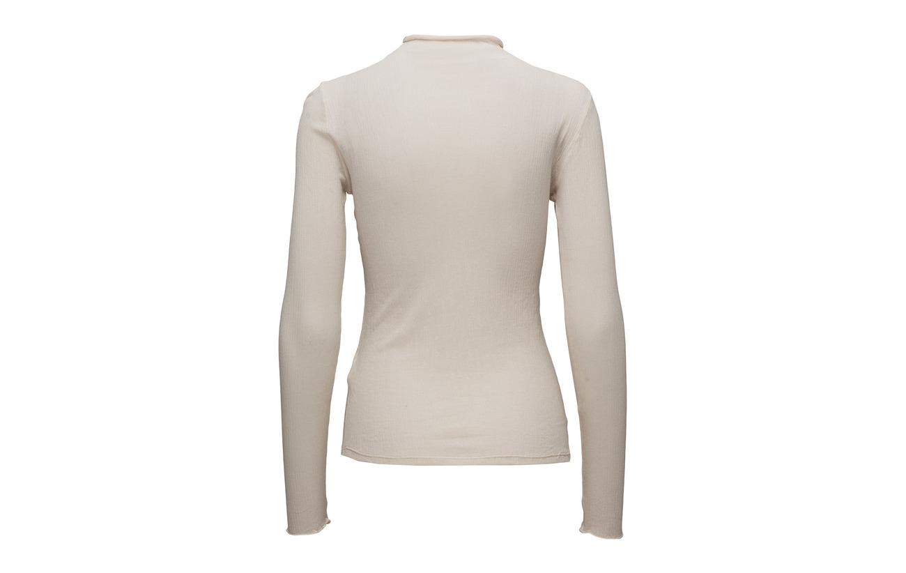 K Top Bone Sheer Neck Coton 100 Mock Jersey Filippa zdSqwaS