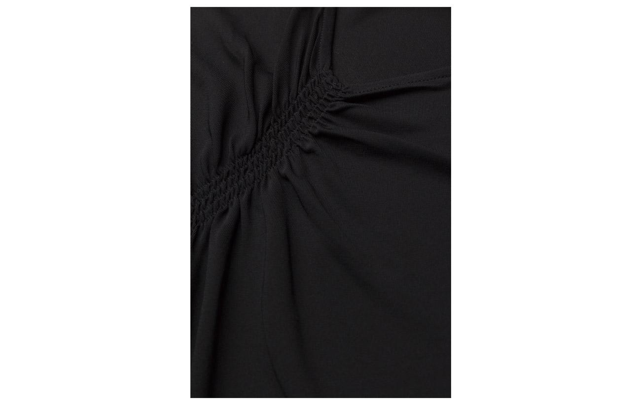 Smock Jersey Polyamide Top Black Filippa 80 20 K Viscose 1q5cEwxT